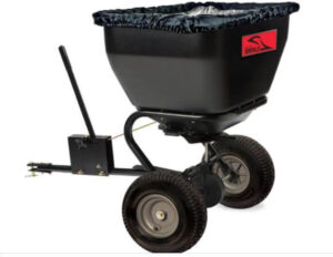 Brinly-Hardy Tow Series With Poly Hopper