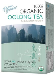 Organic Oolong Tea-100 Tea Bags