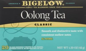 Bigelow Oolong Tea Bags bags