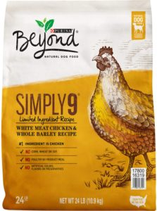 Purina beyond simply 9 dog food
