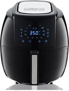 GoWISE USA Air Fryer with Recipe Book