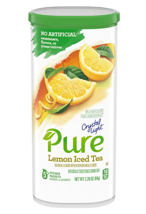 Crystal Light Pure Lemon Iced Tea Drink Mix