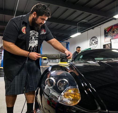 car buffer polisher