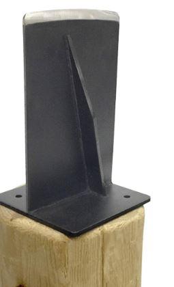 EasyGoProducts Jack Jr. Wood Log Splitter The Firewood Kindling Tool, Unique Design Blade Wedge