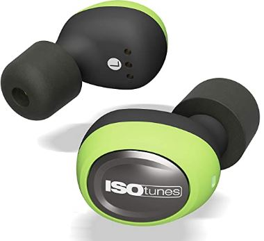 ISOtunes FREE Wireless Earplug Earbuds: 22 dB Noise Reduction Rating, 21 Hour Battery, Noise Cancelling Mic, OSHA Compliant Bluetooth Hearing Protector