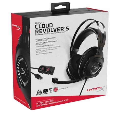 Hyperx cloud revolver s review